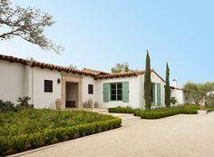 charmante maison typique style hacienda espagnole ojay en californie usa haciendas. Black Bedroom Furniture Sets. Home Design Ideas