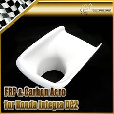 69.00$  Watch here - http://ali2uf.worldwells.pw/go.php?t=32598962699 - Car-styling For Honda Integra DC2 JDM FRP Fiber Glass Front Bumper Air Duct 1pcs In Stock 69.00$