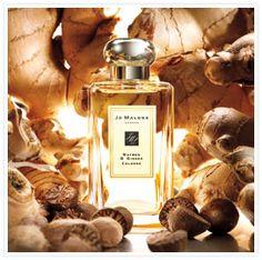 Warm, woody scent. U