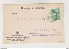 Covers & Documents - AUSTRIA CZECH REPUBLIC 1911 SCHOLLSCHITZ ZELESICE postcard Postcards For Sale, Collectible Cards, Old Paper, Czech Republic, Austria, Stamp, This Or That Questions, Cards, Stamps
