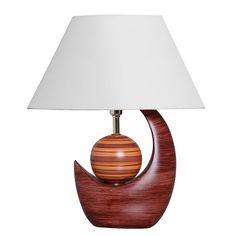 Abajur em Cerâmica Decorativa. Ilumine sua decoração com estilo e elegância.