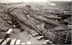 The Flyer roller coster from the Toronto CNE