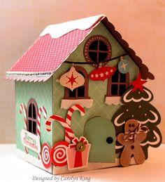 Lori Whitlock Gingerbread House