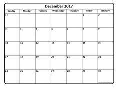 December 2017 calendar . December 2017 calendar printable