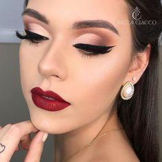 Tolle Tutorials für Braut Make-up. Makeup Inspo, Makeup Inspiration, Makeup Tips, Eye Makeup, Hair Makeup, Makeup Products, Bridal Makeup Red Lips, Indie Makeup, Party Makeup
