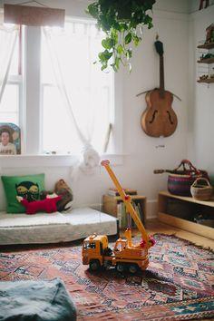 A Beautiful Bright Bohemian Home | The Junior