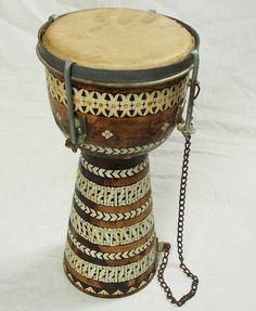Afghan music instrument Zerbaghali No:17/A - orientart