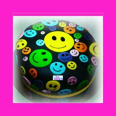 Happy face cake Smiley