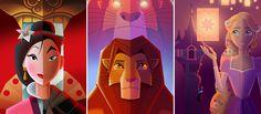 Couverture de l'article Les affiches Disney Art déco de David G. Ferrero (partie 2)