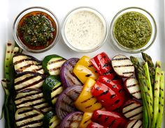Mediterranean grilled vegetables (+ the dressings): http://usat.ly/1qVGyV1  #recipe pic.twitter.com/Jnvq73Uz1k