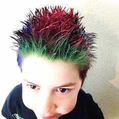 Crazy Hair Day Ideas For Boys With Short Hair | Dr. Seuss ...