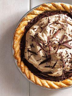 Chocolate-Espresso pie — yum!