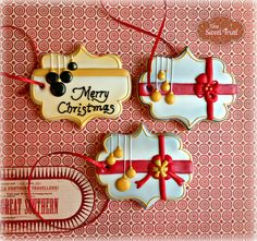Christmas gift tags - sugar cookies