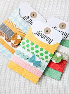 Envelope tags.