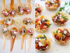 Opções práticas, charmosas e fáceis de serem feitas por qualquer um. Vem ver as inspirações para mini saladas que separamos