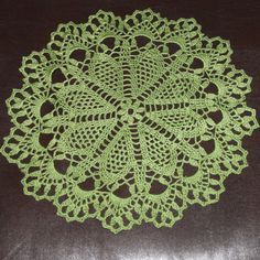 Christmas gift Crochet doily lace doily Christmas