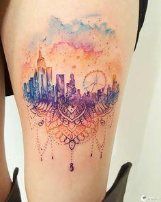 15 tatuagens de arquitetura maravilhosas que te farão querer entrar para o curso – Minilua