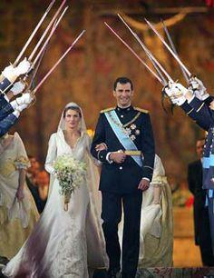 Prince Felipe of Spain and Letizia Ortiz Rocasolano (2004)