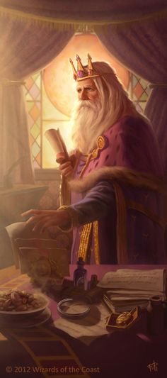 DnD: King Foril by AnthonyFoti