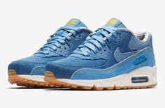 reputable site 907d6 9465b Check Out The Materials On This Luxurious Nike Air Max 90 Mens Fashion Shoes,  Runway