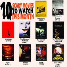 10 Scary Movies to Watch This Month | GirlsGuideTo