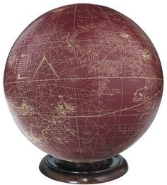 Mercator Desk Globe - 1541 Reproduction - to match my ivory, black, and blue reproductions