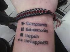 Play the moments... Tattoo
