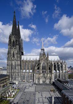 Kölner Dom, Südseite / #Cologne #Cathedral ©KölnTourismus GmbH, Axel Schulten