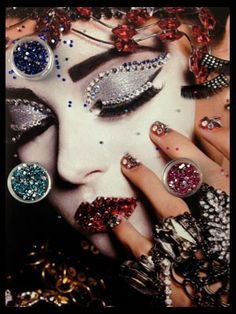 View From the Beauty Closet: Put Some Crystals on It     Daily Beauty Reporter:  Anyone that had (or dreamed of having) a Bedazzler when they were a kid can appreciate my love of crystal-studded makeup. From the minute makeup artist #PatMcGrath glued #Swarovski gems on the eyes at Dior's spring 2013 show,...