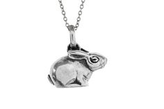 Silver Riverine Rabbit Pendant Protecting the enviroment is of utmost importance to freeRange JEWELS. We are proud to continue our support of the Enda. Dog Tag Necklace, Purpose, Rabbit, Jewels, Pendant, Silver, Jewelery, Rabbits, Pendants