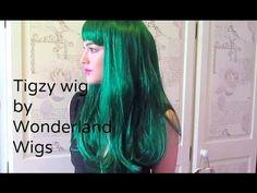 'Tigzy' Wig by Wonderland Wigs #Wig #WondelrandWigs #BlondeWig #BlondeHair #LongHair #LongWig #Fringe #Bangz