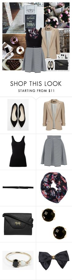 """""""Books & Happiness..."""" by allweknowisfalling ❤ liked on Polyvore featuring Oris, Forever 21, Wallis, Theory, Jane Norman, Sansovino 6, Wet Seal, Dorothy Perkins, Milor and Loren Stewart"""