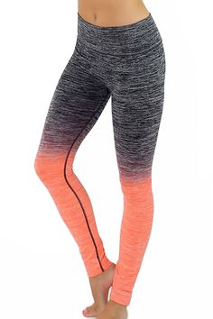 Ombre Fusion Women's Workout Leggings | OnlyLeggings.com - Women's Fashion Superstore