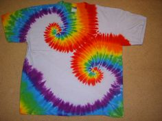 I want to tie dye a shirt I own into this pattern, but I need to find a tutorial.