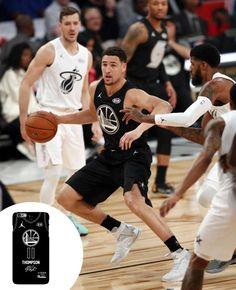 48b2969dc71 NBA All-Star 2018 Game Team Stephen Warriors Klay Thompson.  nba   allstar2018
