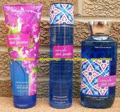 Seaside Pink Jasmine Bath and Body Works Fragrance Mist Body Cream Shower Gel Bath N Body Works, Bath And Body Works Perfume, Pink Jasmine, Best Lotion, Body Hacks, Body Care, Face Care, Fragrance Mist, Body Mist