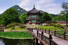 Seoul, South Korea. I wish I wish I wish! I've never been to the place my family came from! MUST GO ONE DAY!