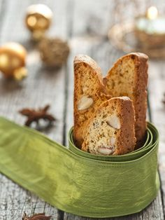 Cantucci (biscuits aux amandes)