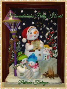 Maria Del Carmen Serrano's media content and analytics Christmas Stocking Kits, Felt Christmas Stockings, Christmas Clay, Christmas Favors, Xmas, Christmas Ornaments, Felt Decorations, Christmas Decorations, Holiday Decor