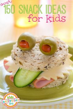 More Than 150 Snack Ideas For Kids - Kids Activities Blog