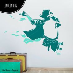#ViniloDecorativo inspirado en #MichaelJackson, el Rey del Pop / #WallSticker inspired by Michael Jackson, #KingOfPop