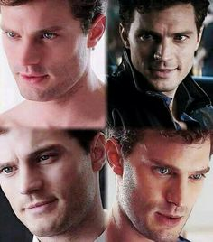 Faces of Christian Grey
