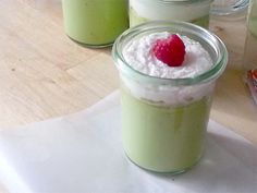 I put lemon in almost everything. I wear a perfume with grapefruit notes. And today I had one of these Key Lime Pot de Creme for breakfast. I needed something special to serve… Kinds Of Desserts, No Cook Desserts, Great Desserts, Mini Desserts, Delicious Desserts, Dessert Recipes, Yummy Food, Key Lime, Citrus Recipes
