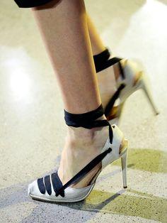 Stilettos con un toque del estilo romano