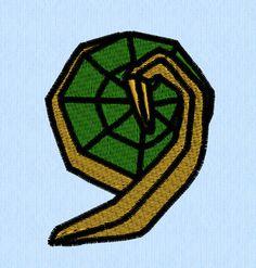 Hylian Crest Machine Embroidery Design Legend Of Zelda By