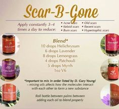 Essential oil scar cream #EssentialOilBlends