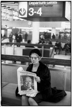 Henri Cartier-Bresson //  GB, London   -    Winston CHURCHILL's funeral. January 29, 1965.