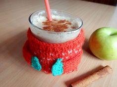 Jablková štrúdľa v pohári