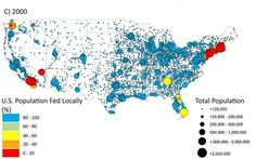 most americans could be fed by locally grown food