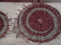 Corso di cesteria giorno 1 - Spirale di salice e ulivastro